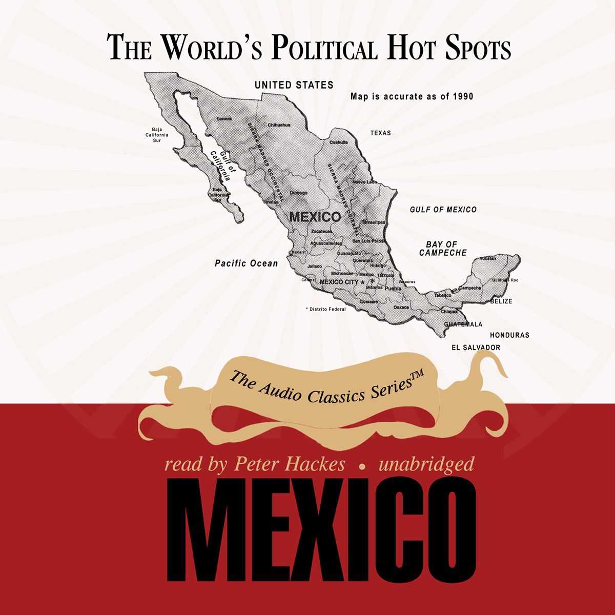 Printable Mexico Audiobook Cover Art