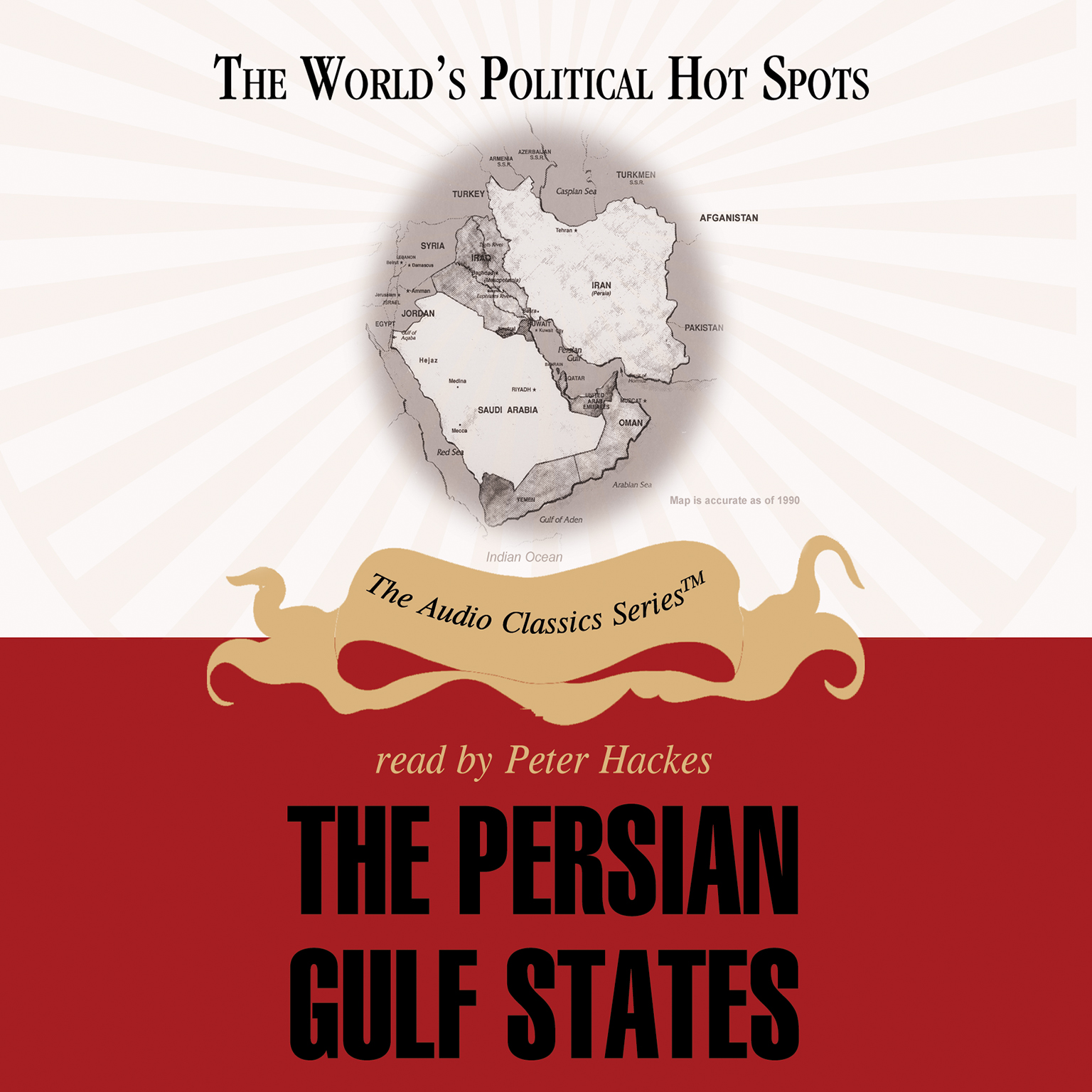 Printable The Persian Gulf States Audiobook Cover Art