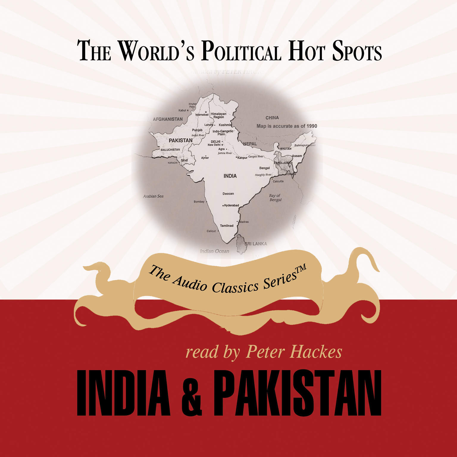 Printable India and Pakistan Audiobook Cover Art