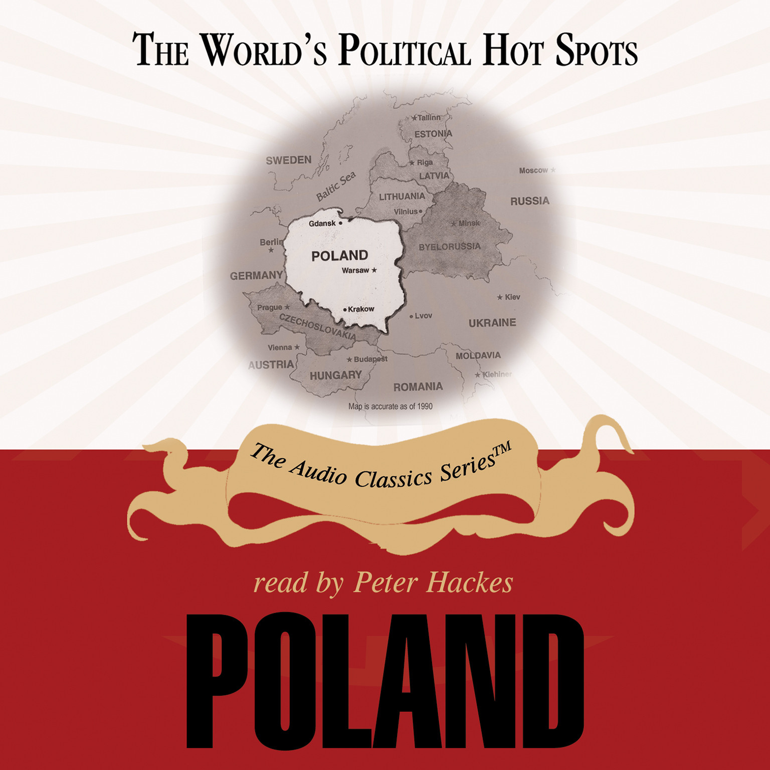 Printable Poland Audiobook Cover Art