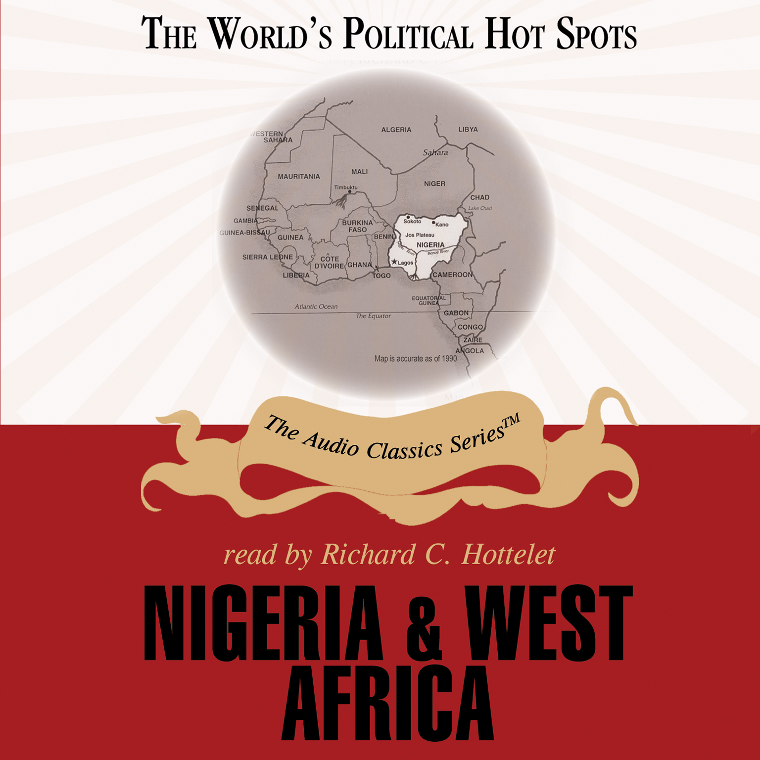 Printable Nigeria and West Africa Audiobook Cover Art