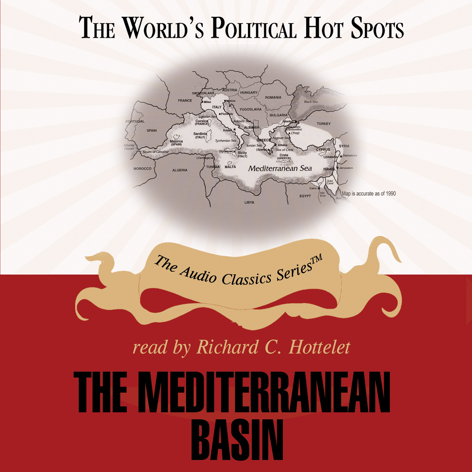 Printable The Mediterranean Basin Audiobook Cover Art