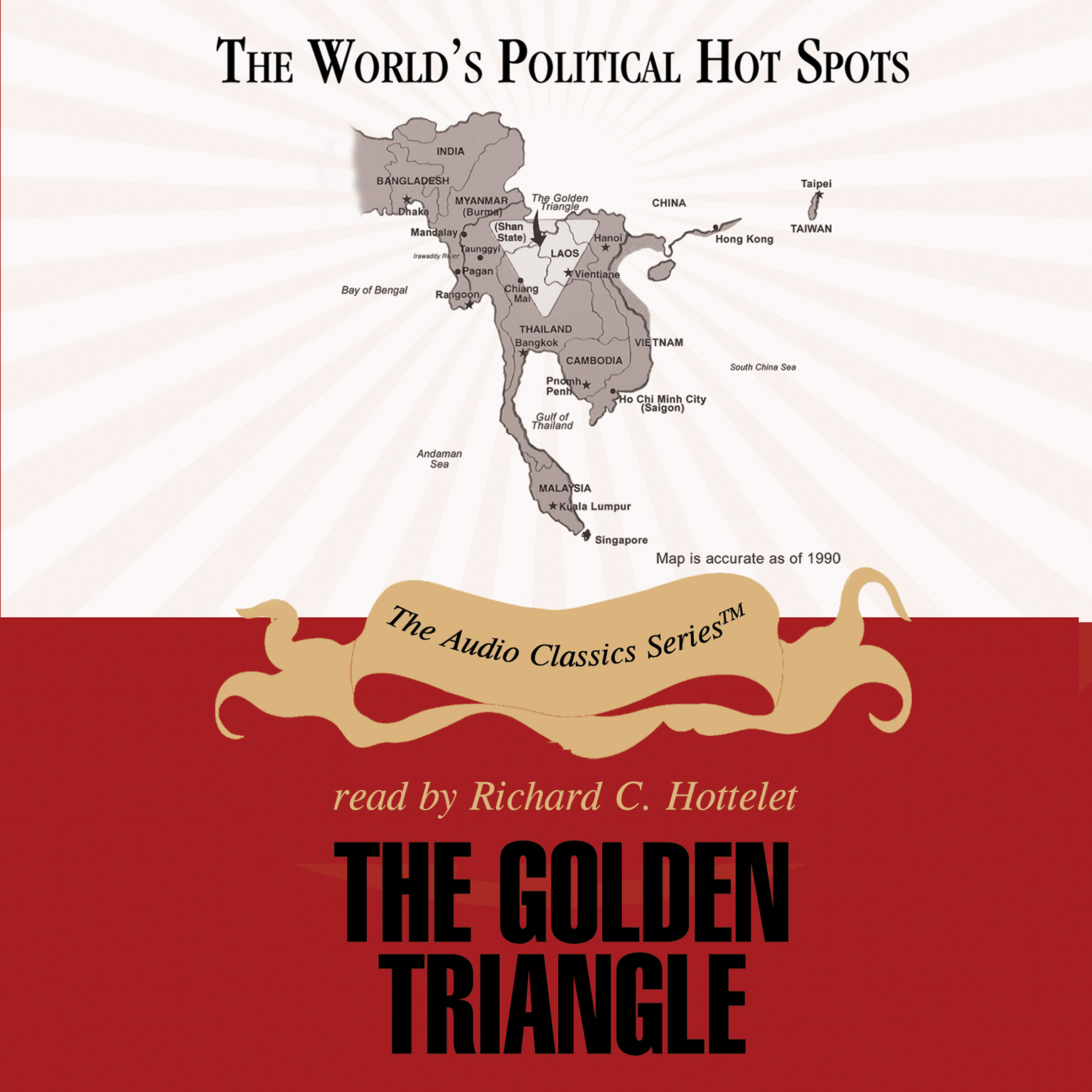 Printable The Golden Triangle Audiobook Cover Art