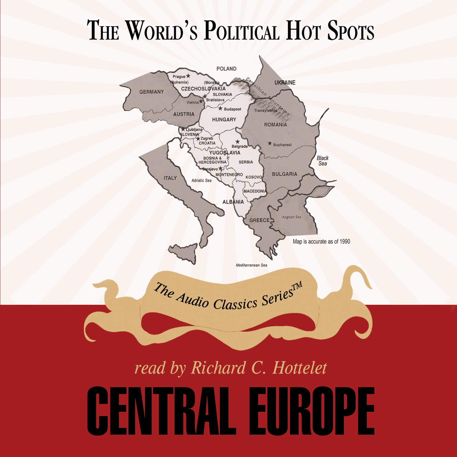 Printable Central Europe Audiobook Cover Art