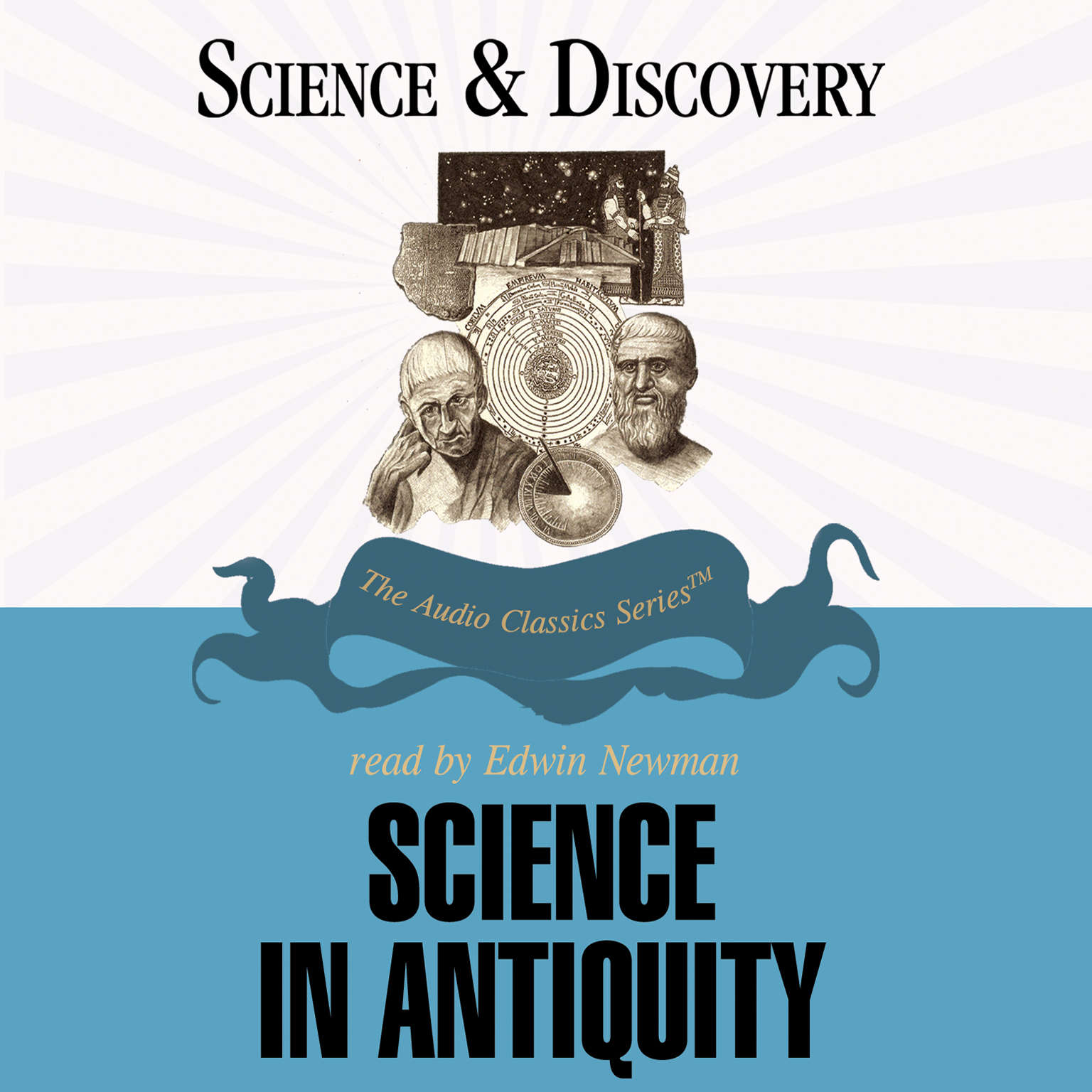 Printable Science in Antiquity Audiobook Cover Art