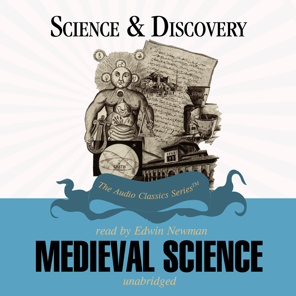 Printable Medieval Science Audiobook Cover Art
