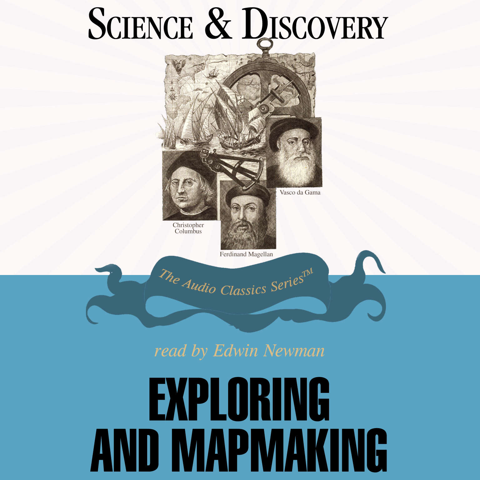 Printable Exploring and Mapmaking Audiobook Cover Art