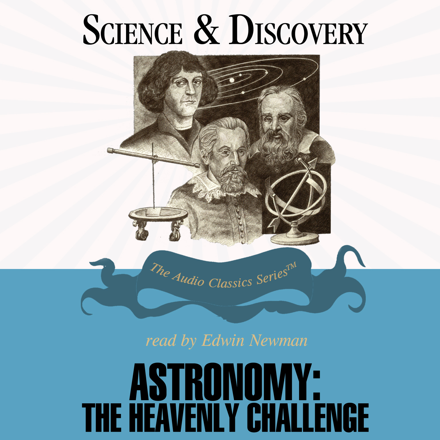 Printable Astronomy: The Heavenly Challenge Audiobook Cover Art