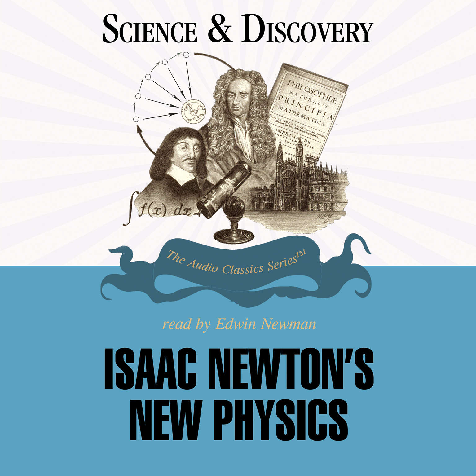 Printable Isaac Newton's New Physics Audiobook Cover Art