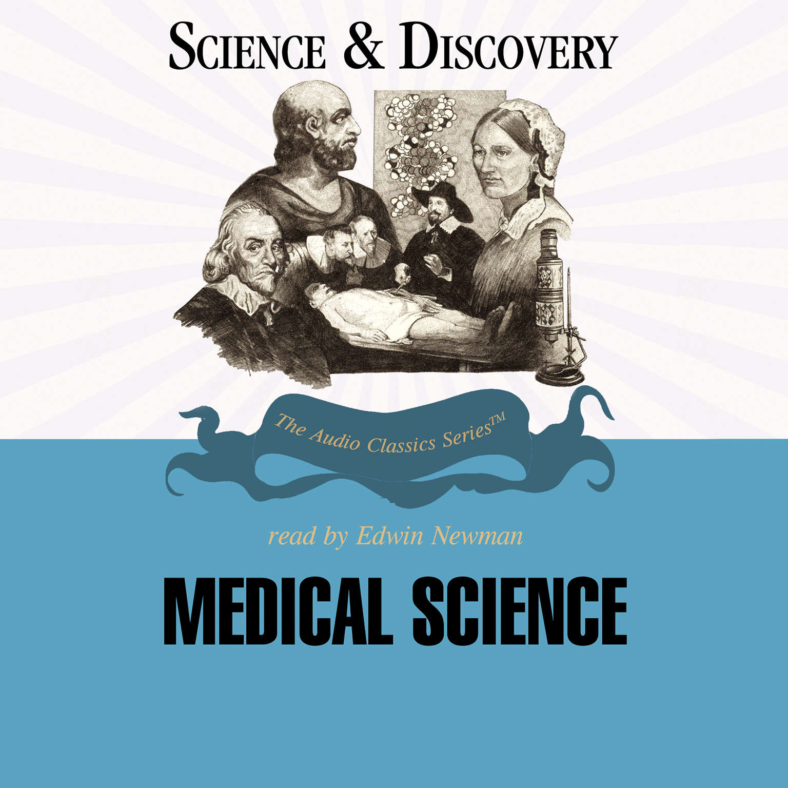 Printable Medical Science Audiobook Cover Art