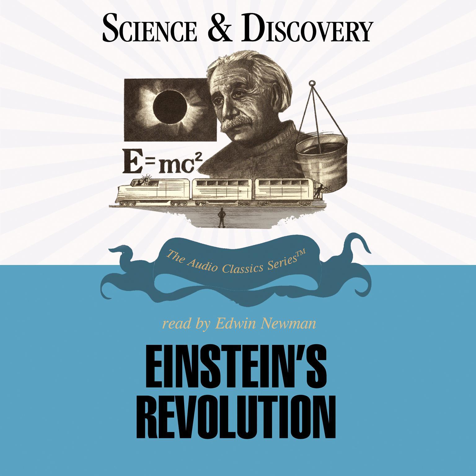 Printable Einstein's Revolution Audiobook Cover Art