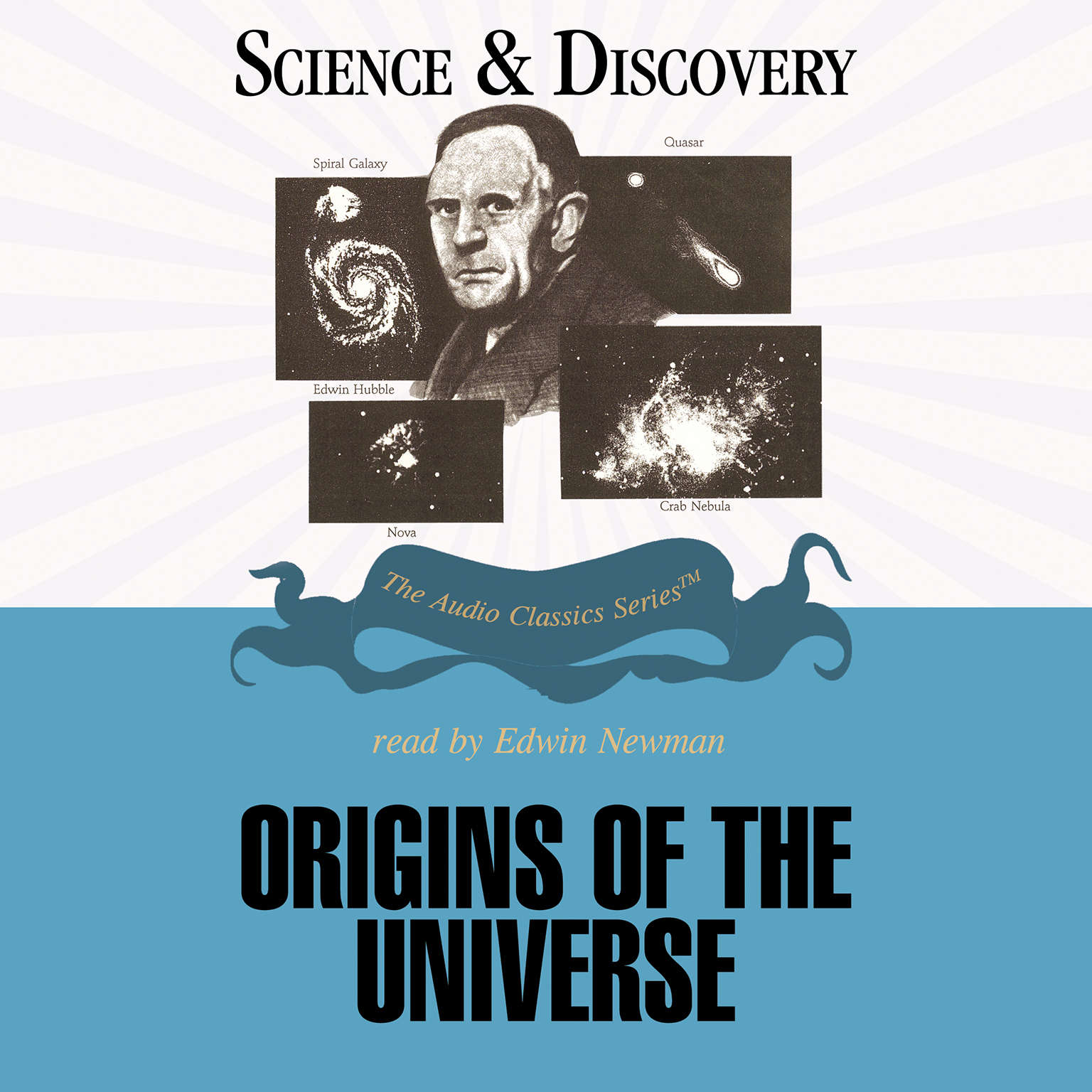 Printable Origins of the Universe Audiobook Cover Art