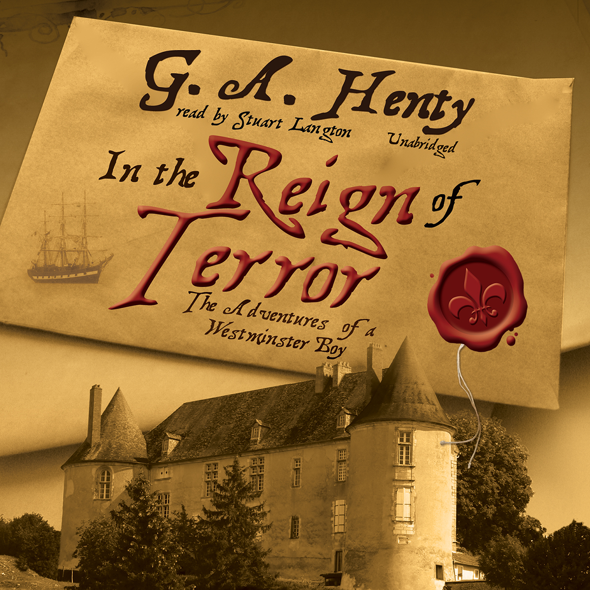 Printable In the Reign of Terror: The Adventures of a Westminster Boy Audiobook Cover Art