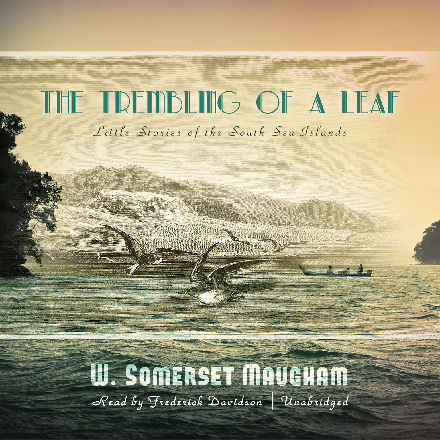 Printable The Trembling of a Leaf: Little Stories of the South Sea Islands Audiobook Cover Art