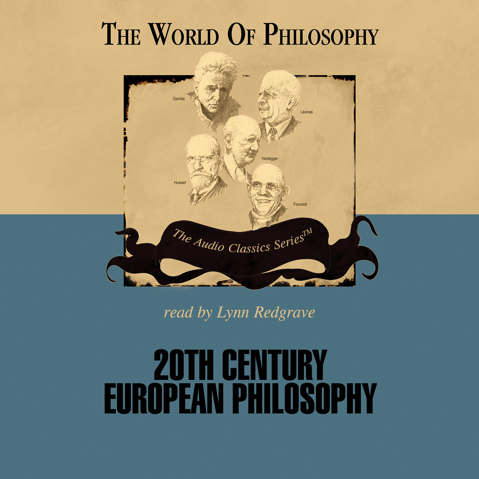 Printable Twentieth Century European Philosophy Audiobook Cover Art