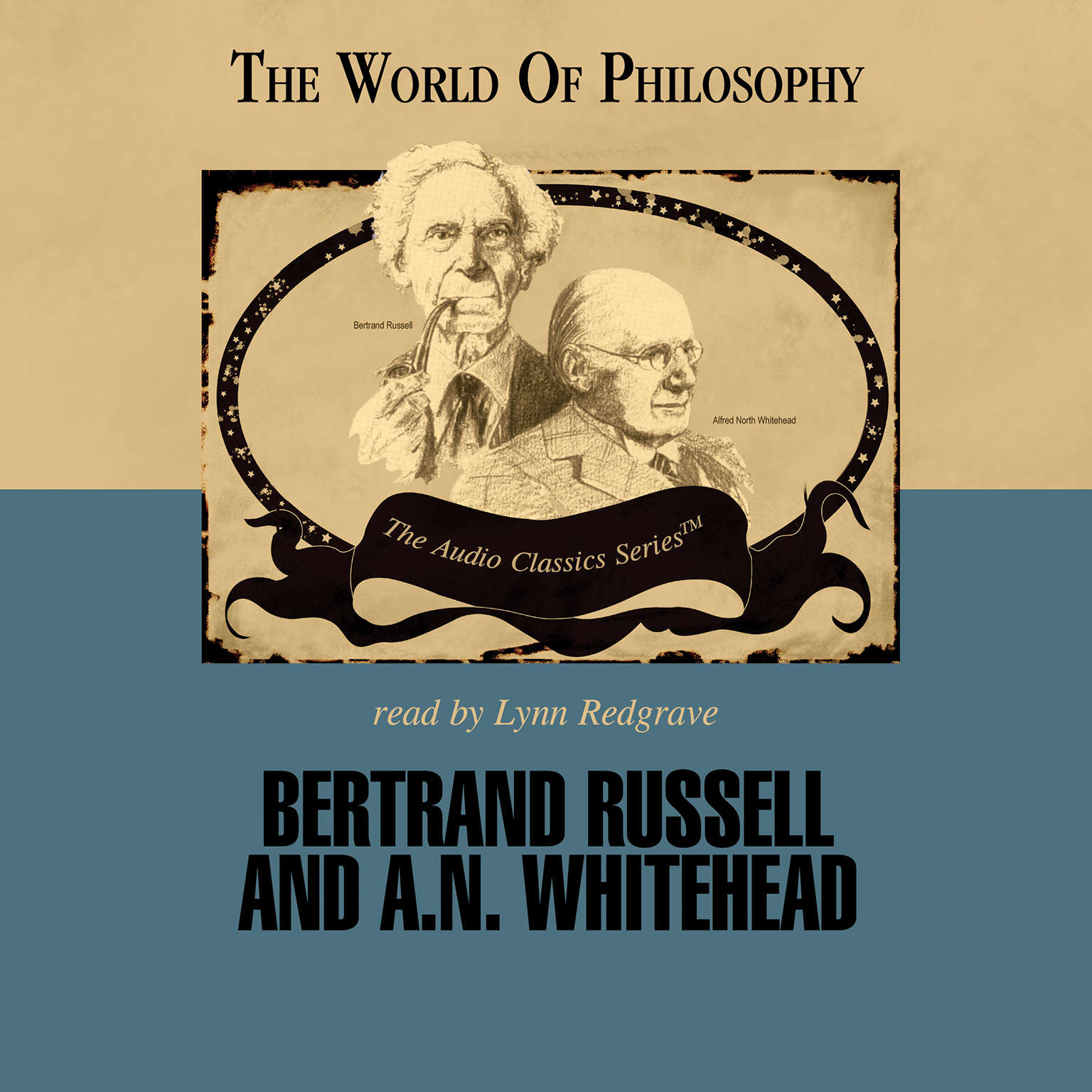 Printable Bertrand Russell and A. N. Whitehead Audiobook Cover Art