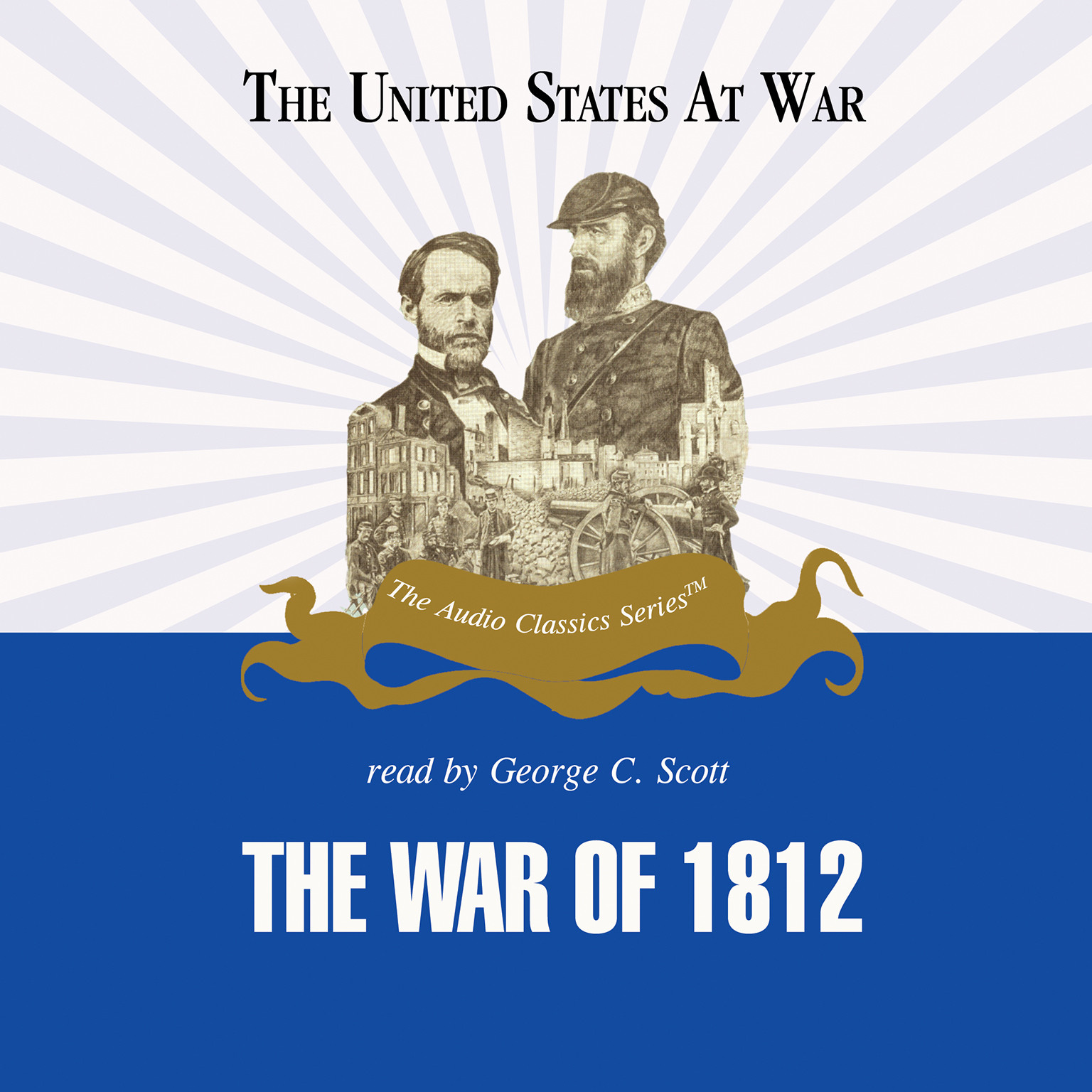 Printable The War of 1812 Audiobook Cover Art