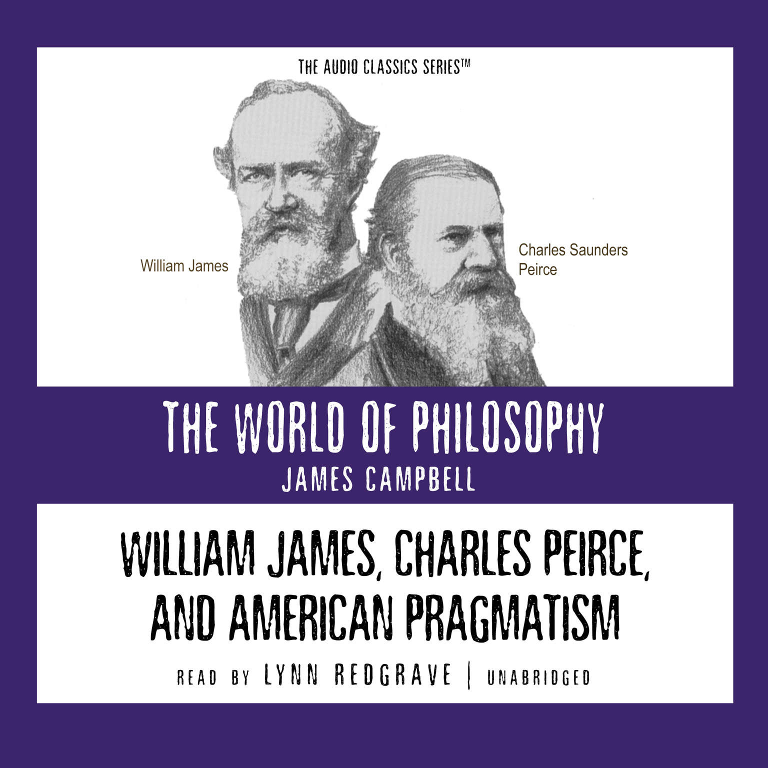 Printable William James, Charles Peirce, and American Pragmatism Audiobook Cover Art