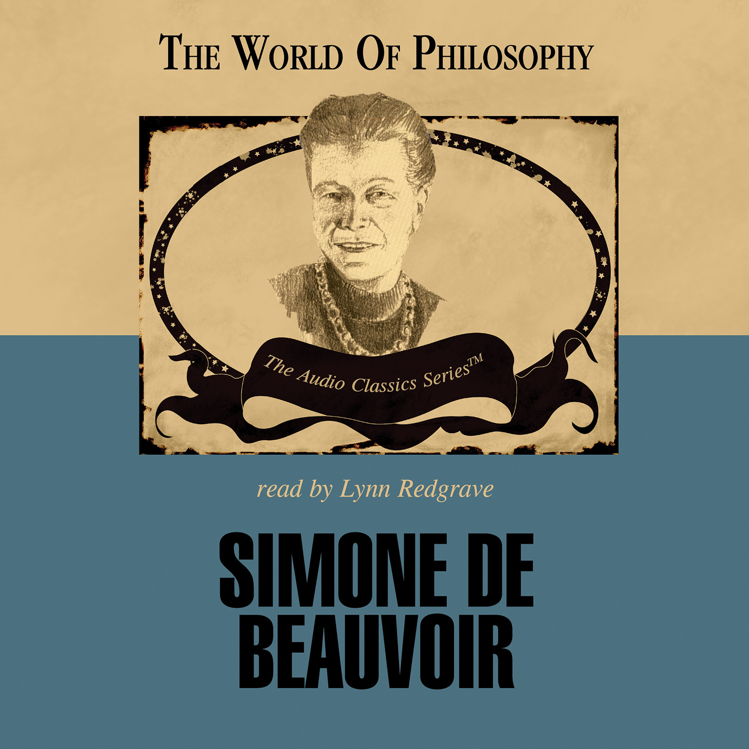 Printable Simone de Beauvoir Audiobook Cover Art