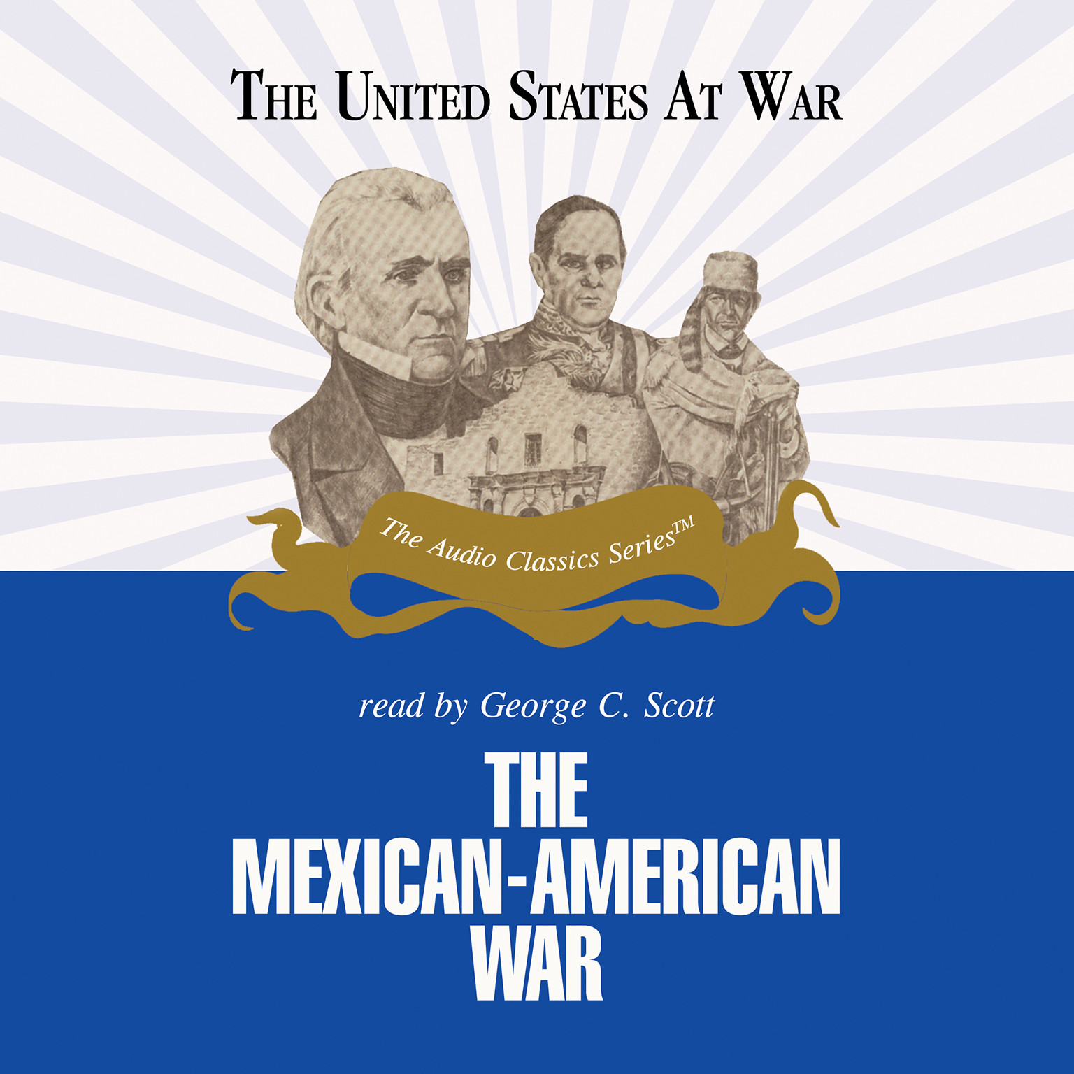 Printable The Mexican-American War Audiobook Cover Art