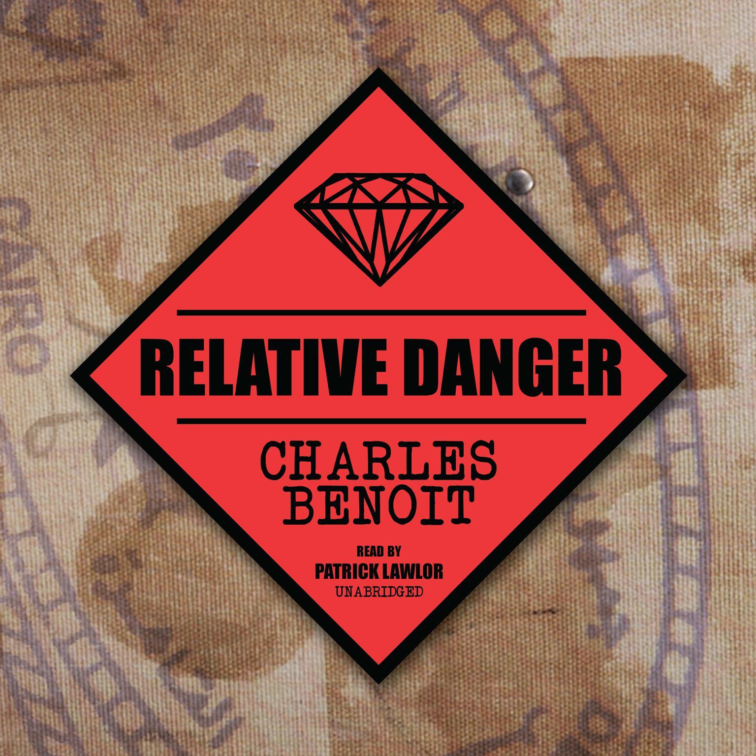 Printable Relative Danger Audiobook Cover Art