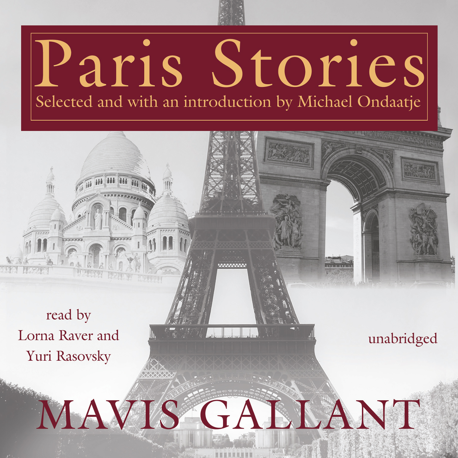 Printable Paris Stories Audiobook Cover Art