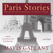 Paris Stories Audiobook, by Mavis Gallant