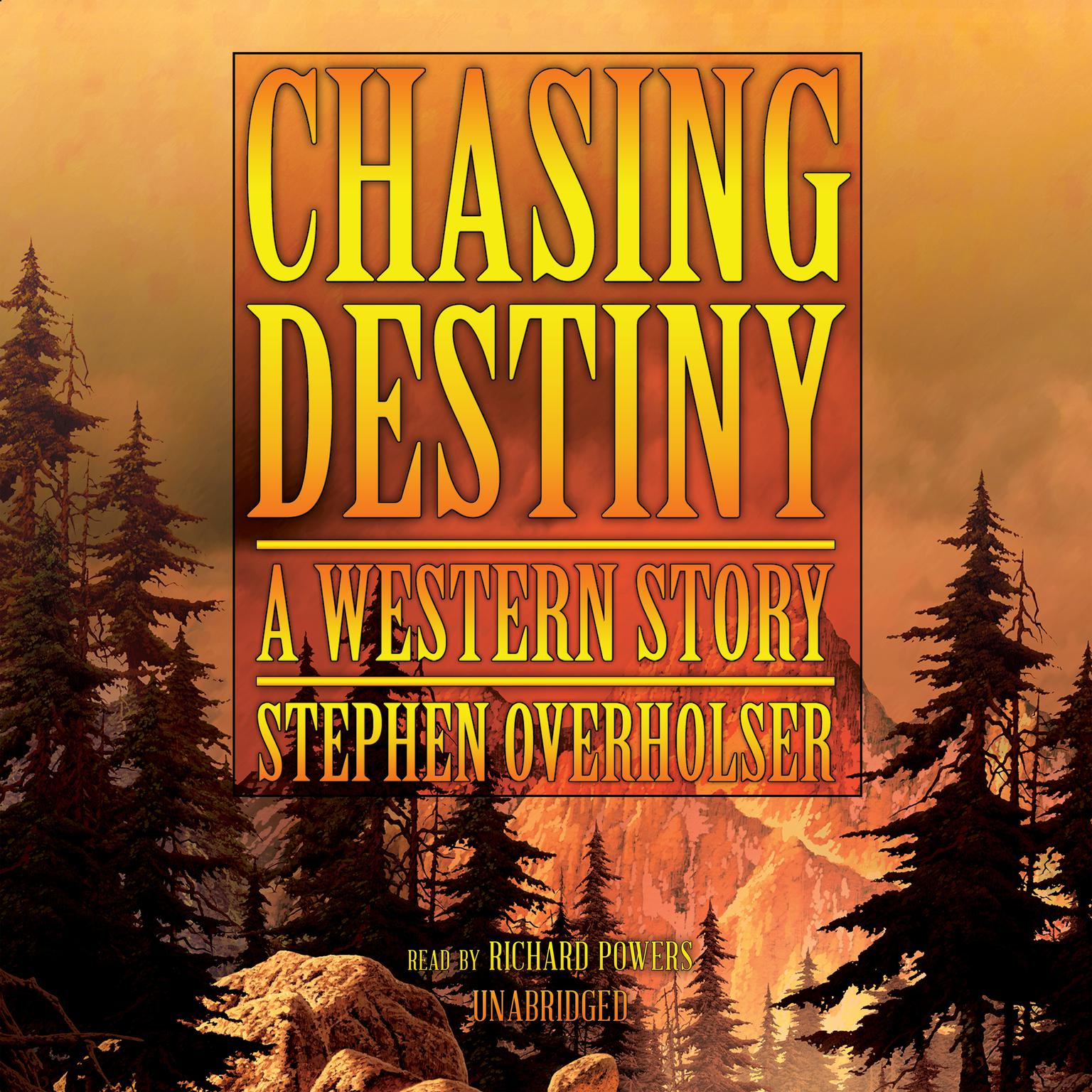 Printable Chasing Destiny: A Western Story Audiobook Cover Art