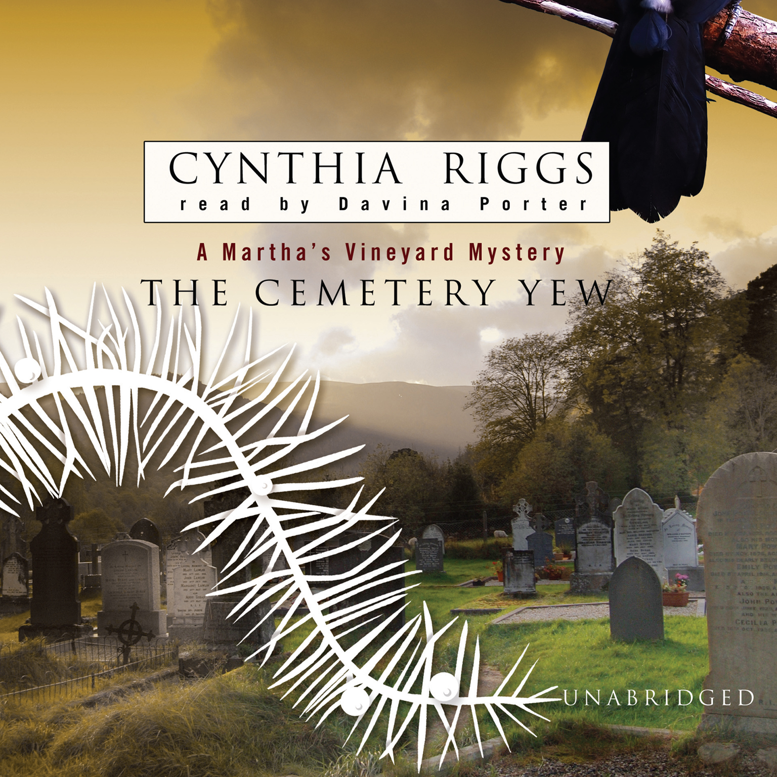 Printable The Cemetery Yew Audiobook Cover Art