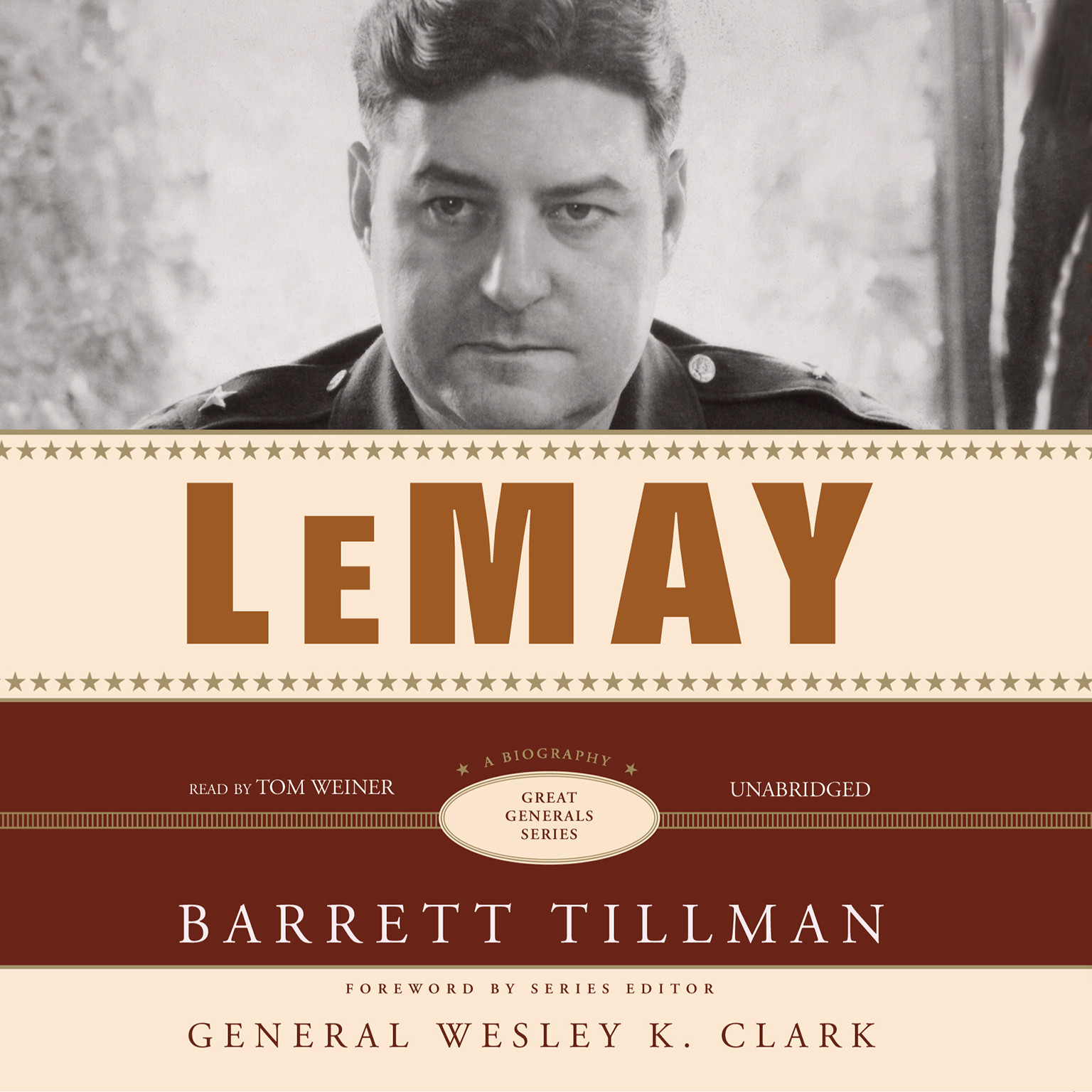 Printable LeMay: A Biography Audiobook Cover Art