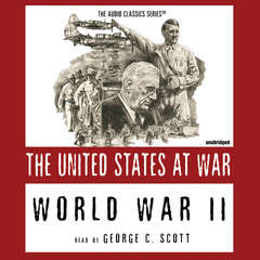 World War II: The United States at War Audiobook, by Joseph Stromberg