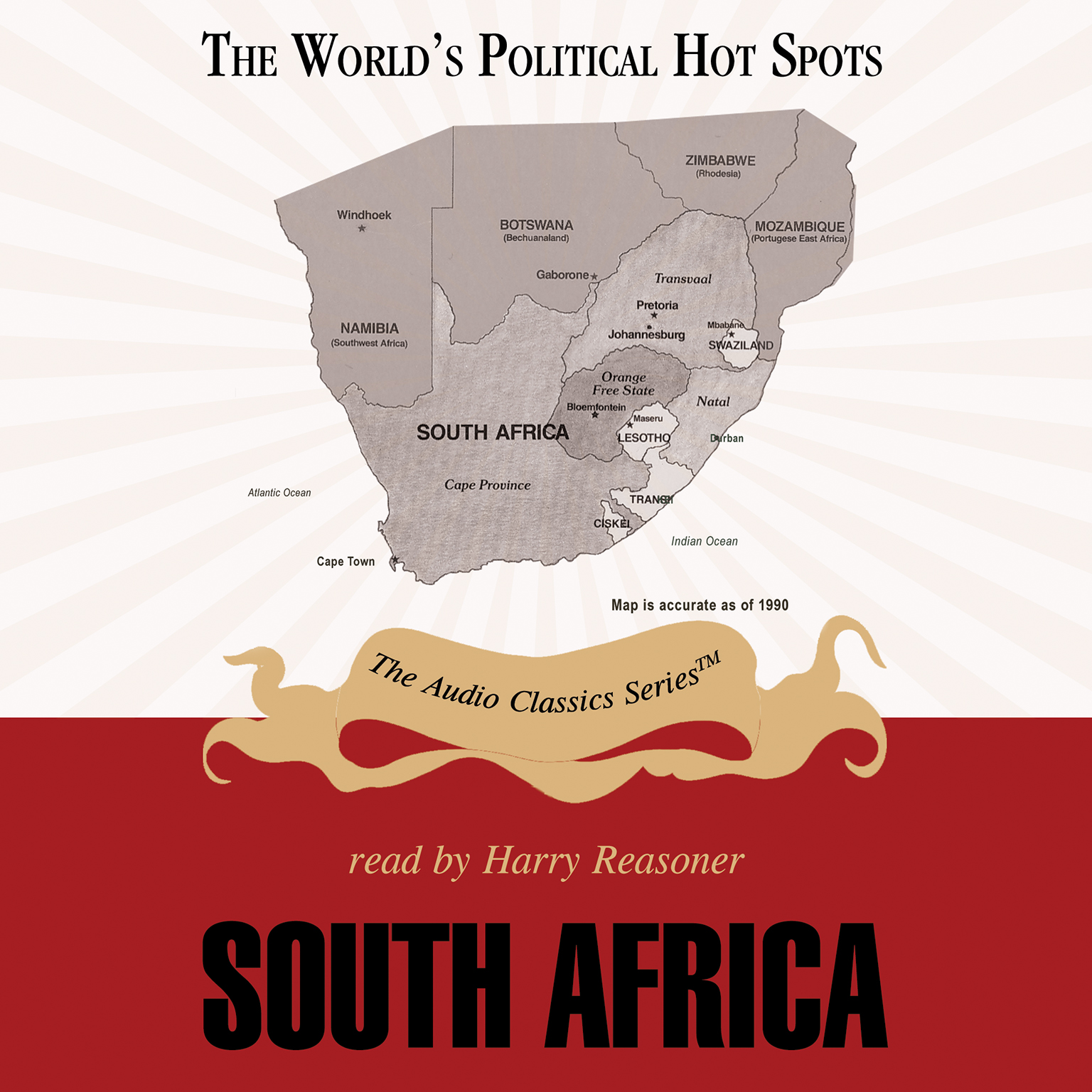 Printable South Africa Audiobook Cover Art