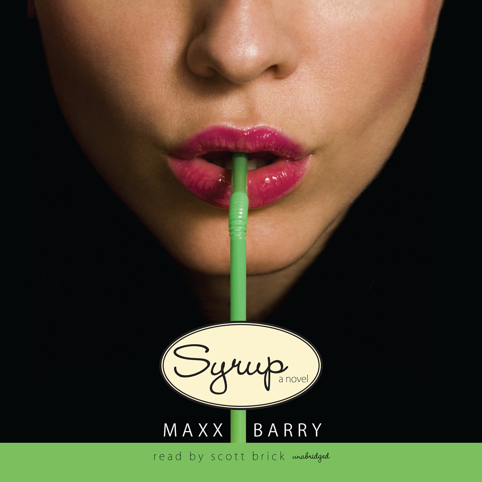 Printable Syrup Audiobook Cover Art