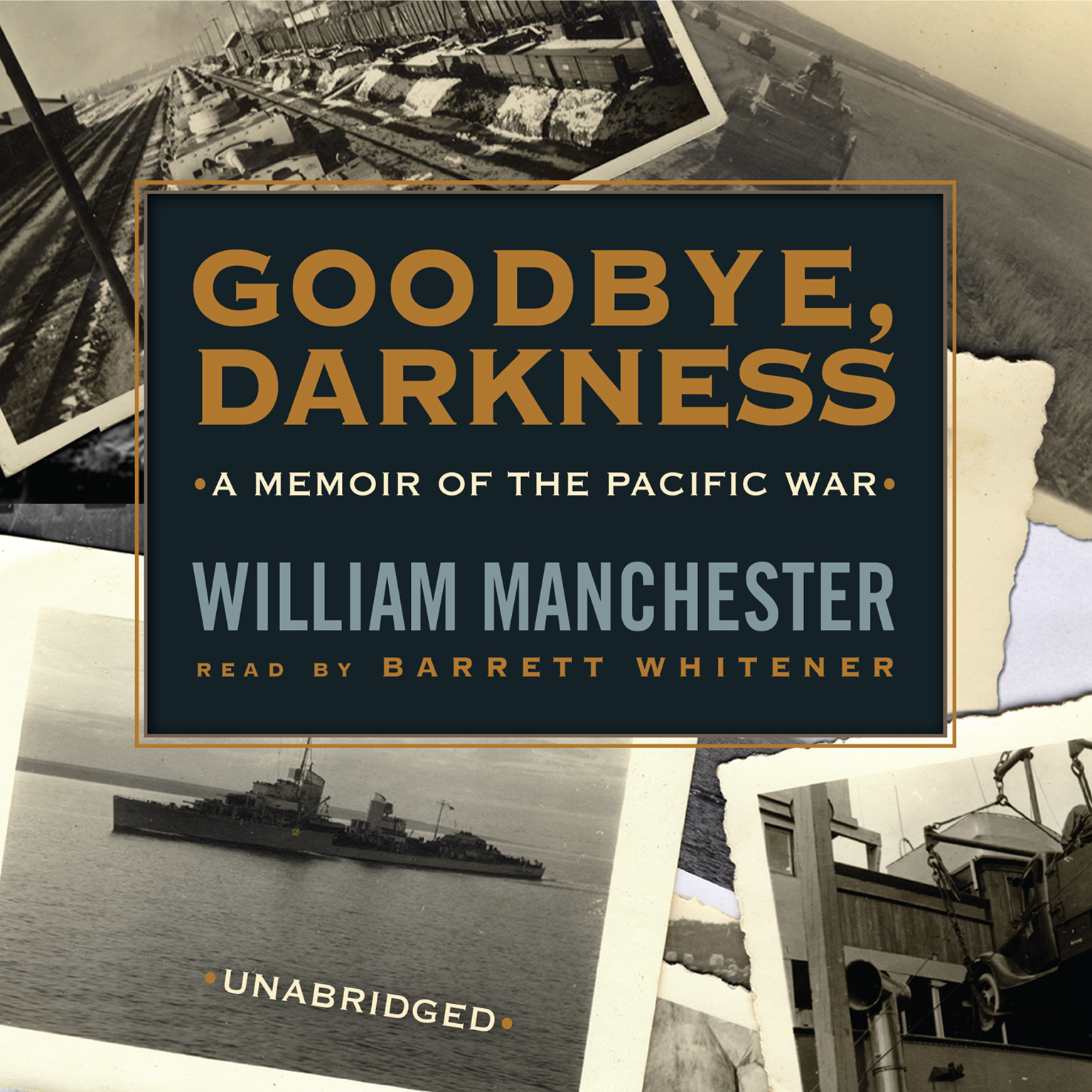 Printable Goodbye, Darkness: A Memoir of the Pacific War Audiobook Cover Art