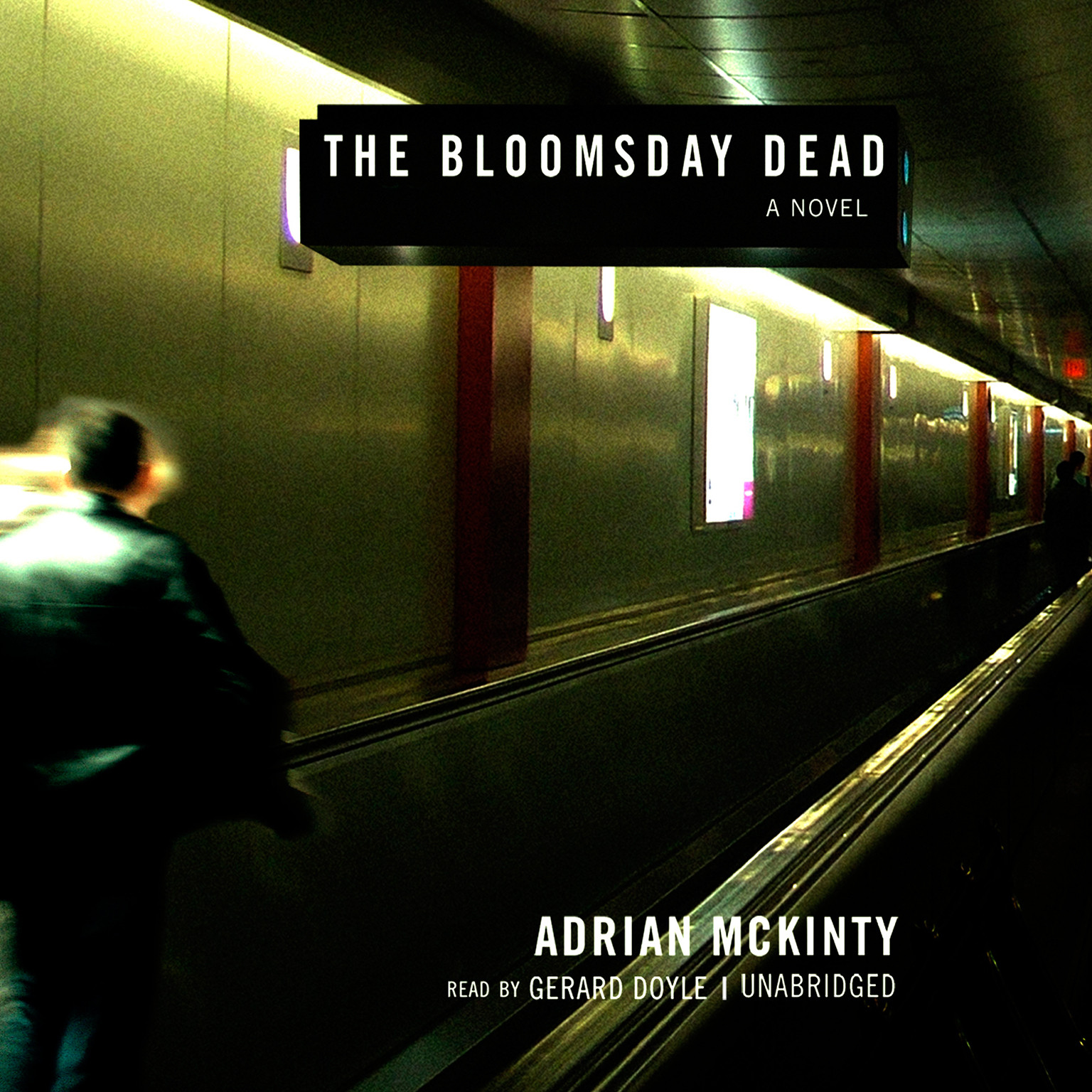 Printable Bloomsday Dead Audiobook Cover Art