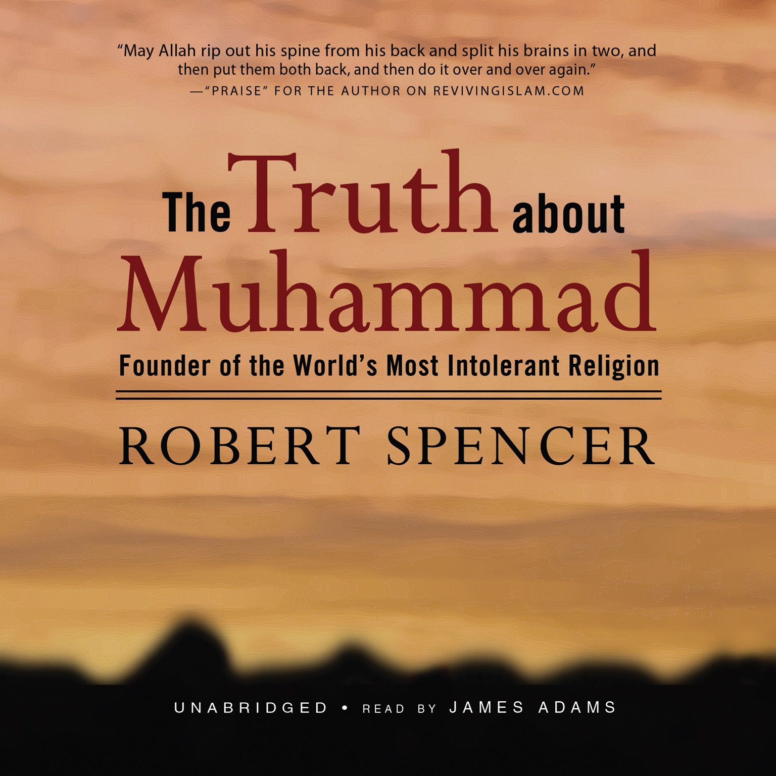 Printable The Truth about Muhammad: Founder of the World's Most Intolerant Religion Audiobook Cover Art