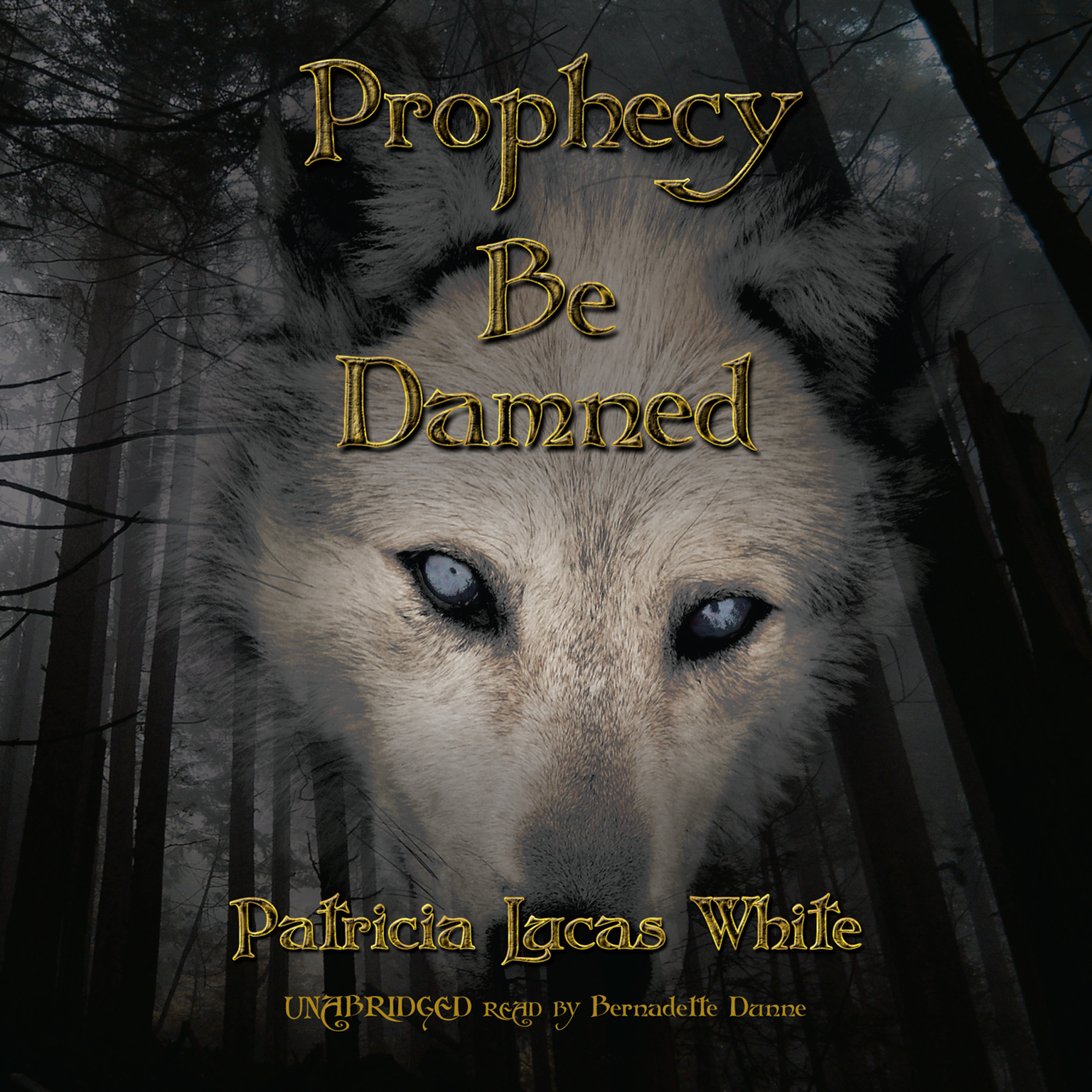 Printable Prophecy Be Damned Audiobook Cover Art