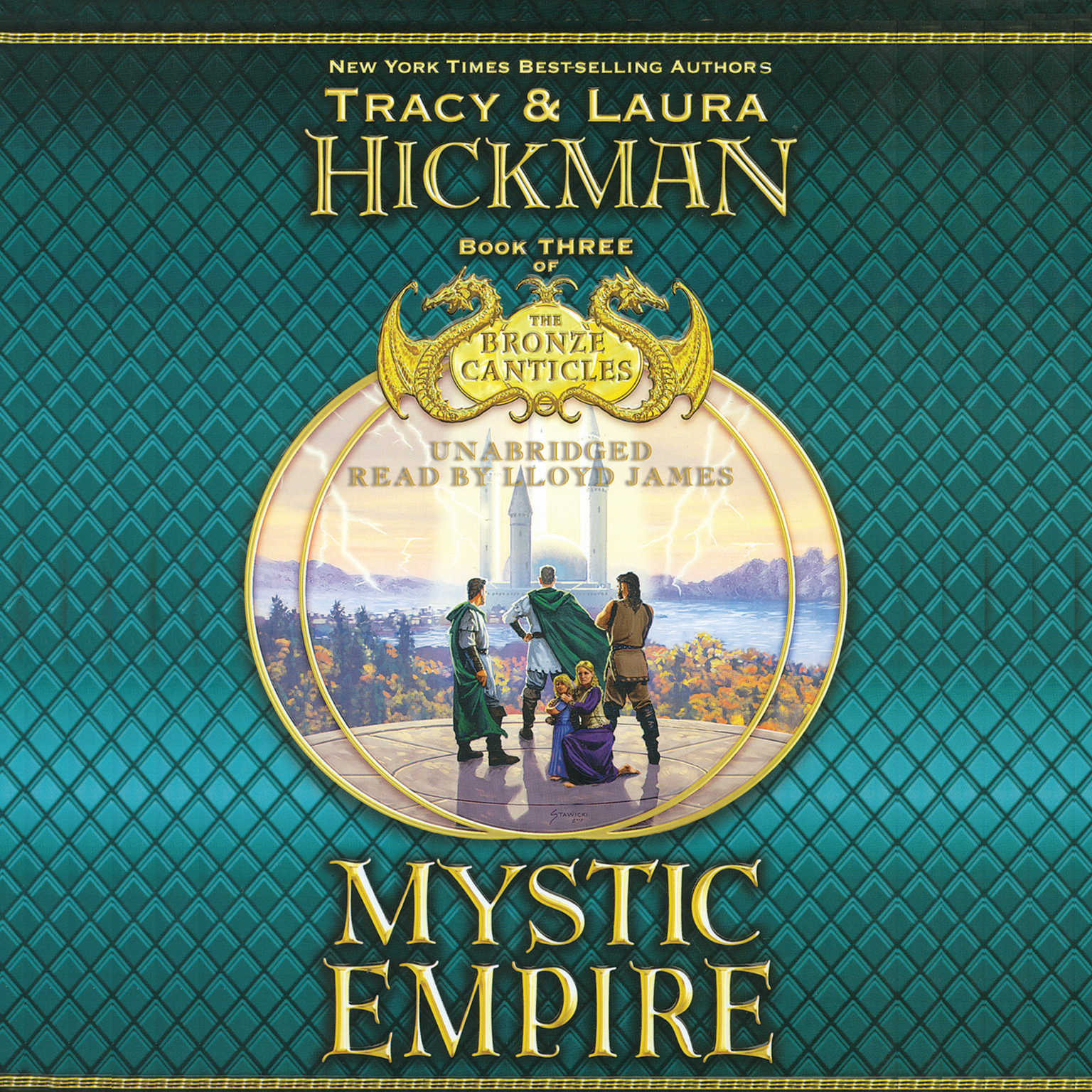 Printable Mystic Empire Audiobook Cover Art