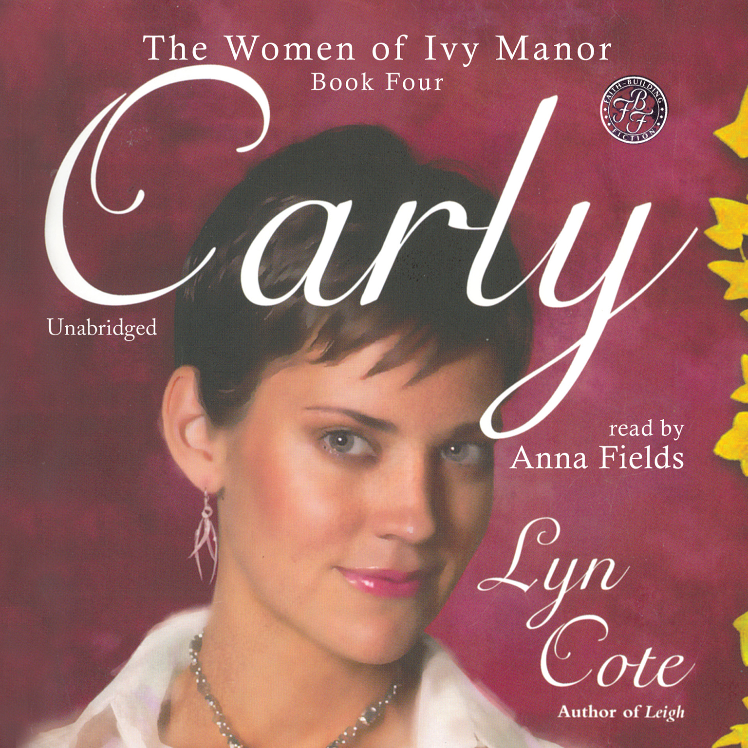 Printable Carly Audiobook Cover Art