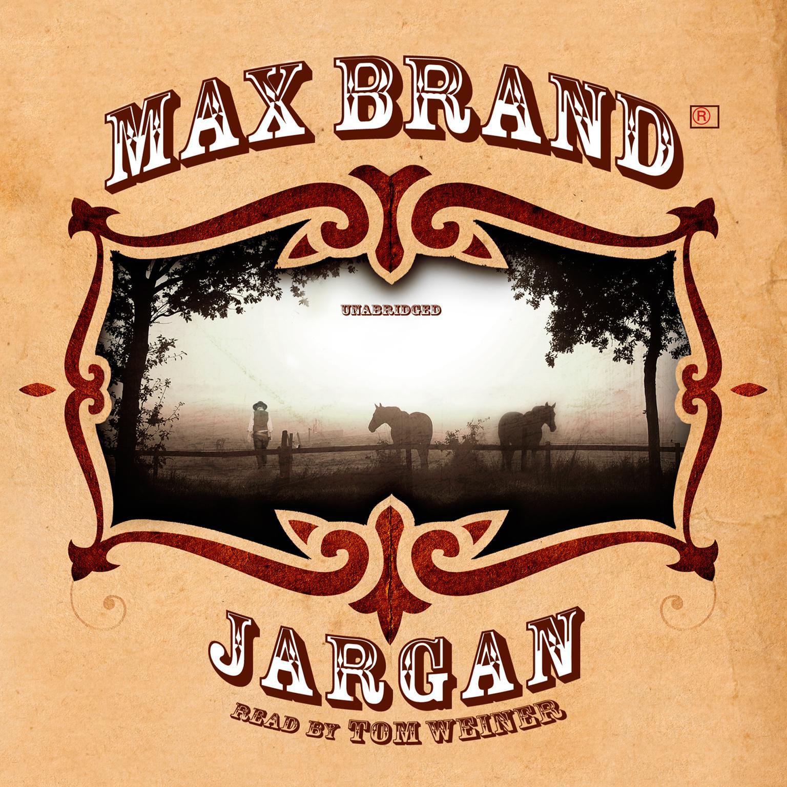 Printable Jargan Audiobook Cover Art