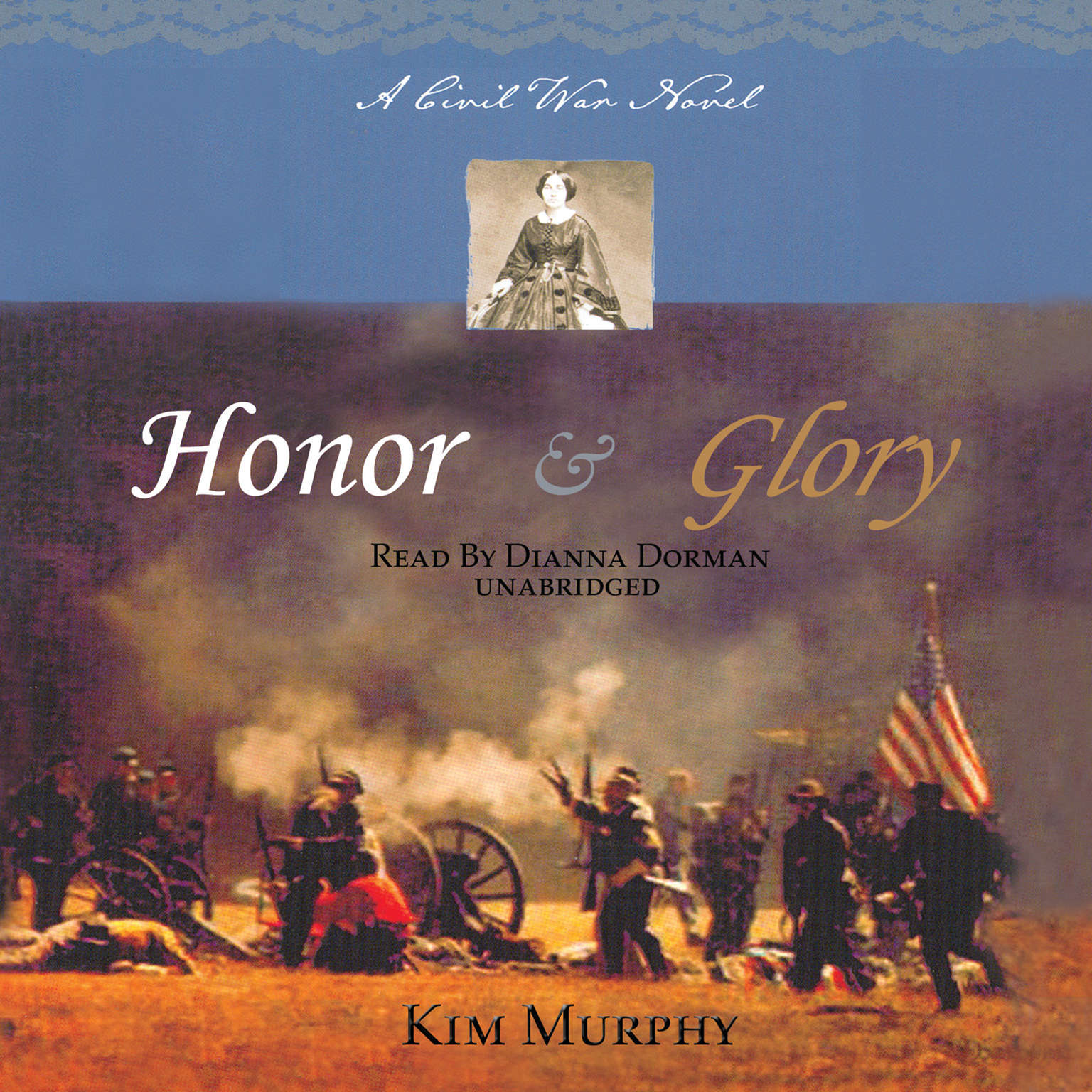Printable Honor & Glory: A Civil War Novel Audiobook Cover Art