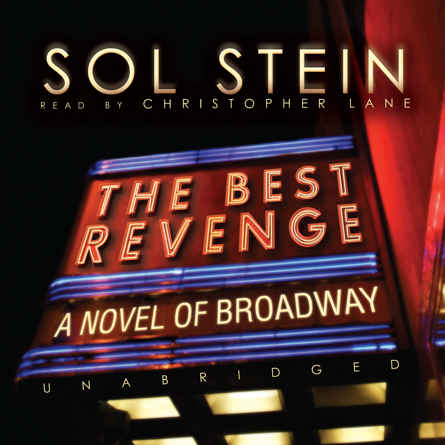 Printable The Best Revenge: A Novel of Broadway Audiobook Cover Art
