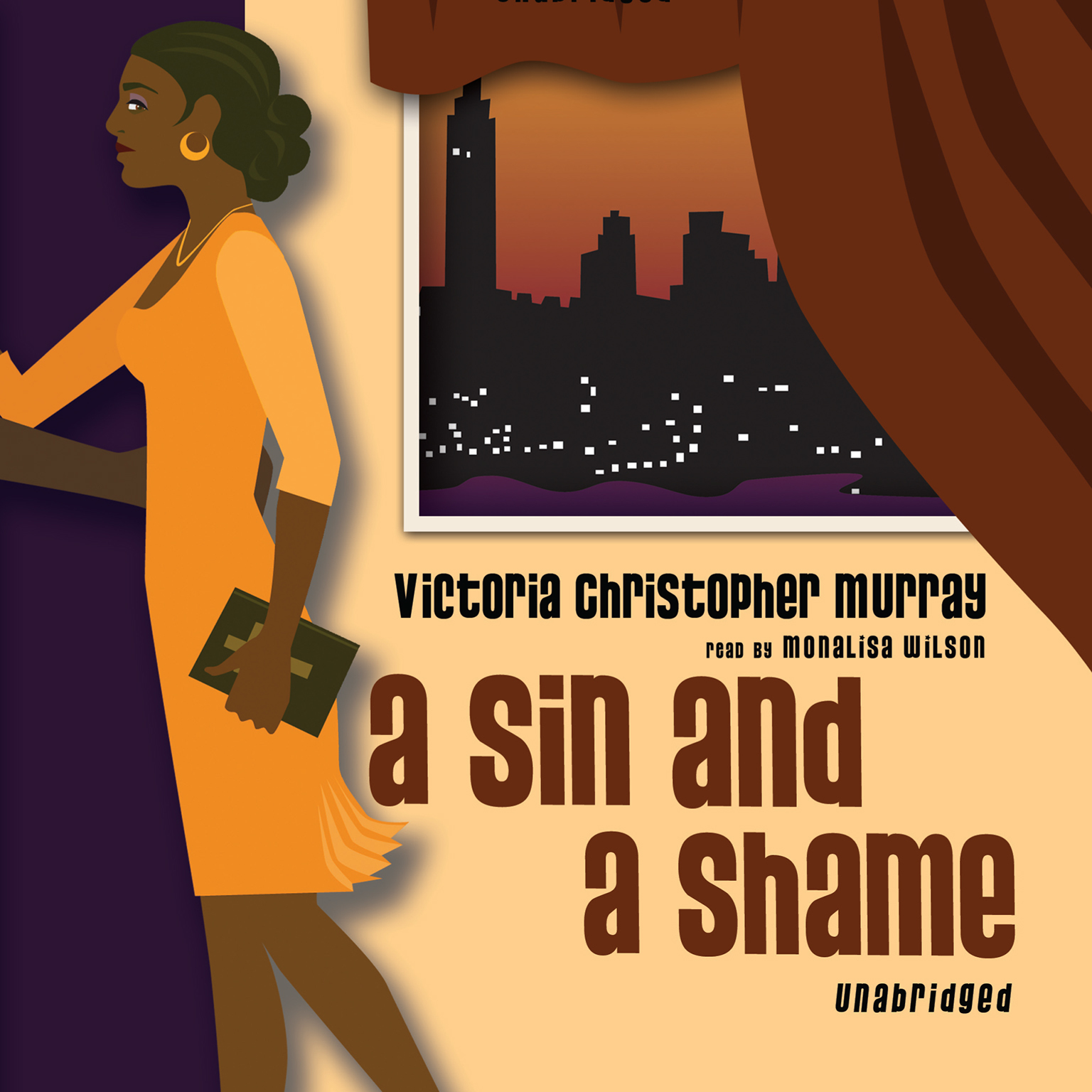 Printable A Sin and a Shame Audiobook Cover Art