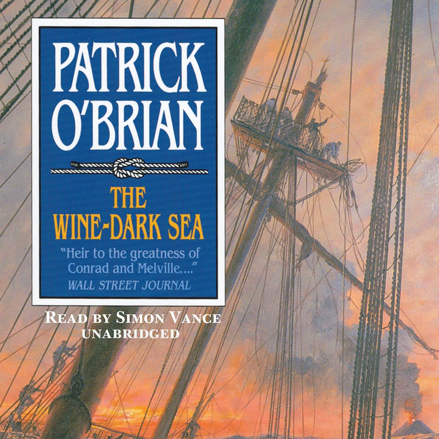 Printable The Wine-Dark Sea Audiobook Cover Art