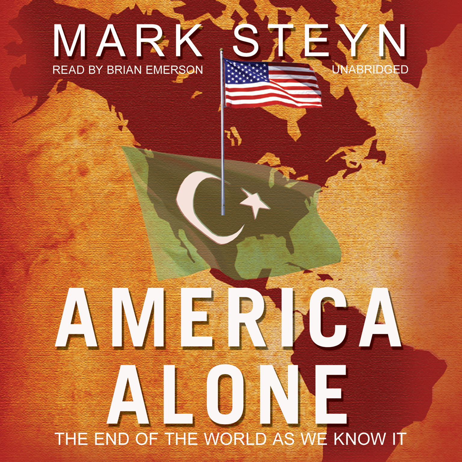 Printable America Alone: The End of the World as We Know It Audiobook Cover Art