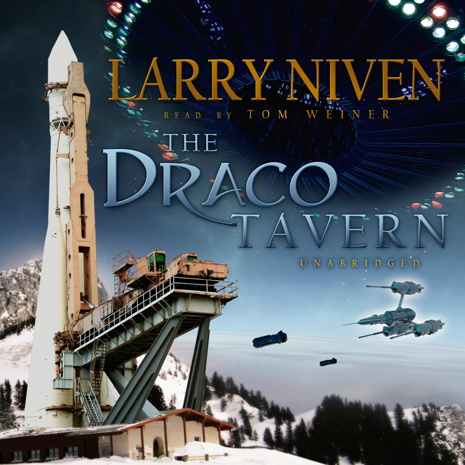 Printable The Draco Tavern Audiobook Cover Art
