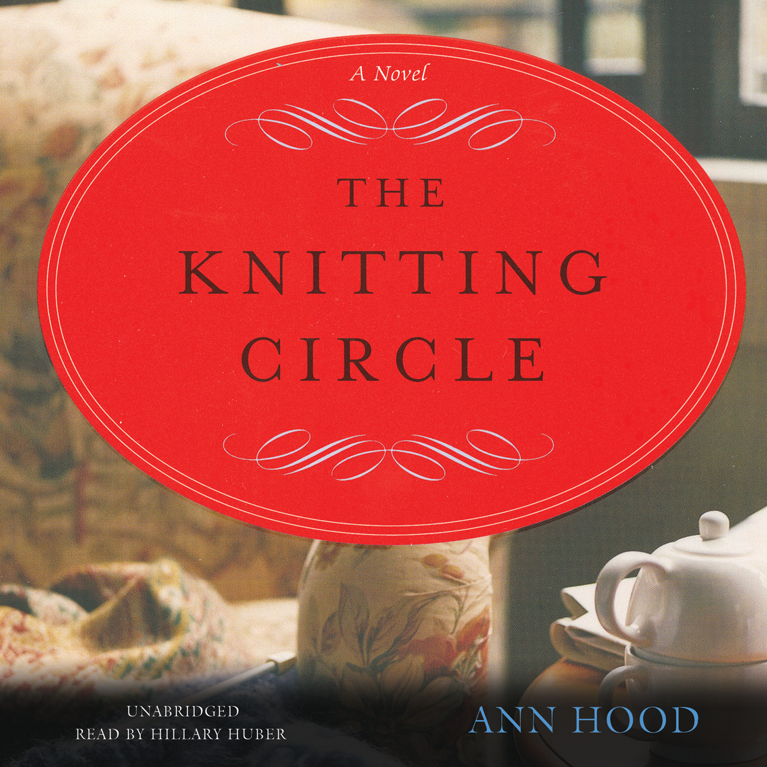 Printable The Knitting Circle: A Novel Audiobook Cover Art