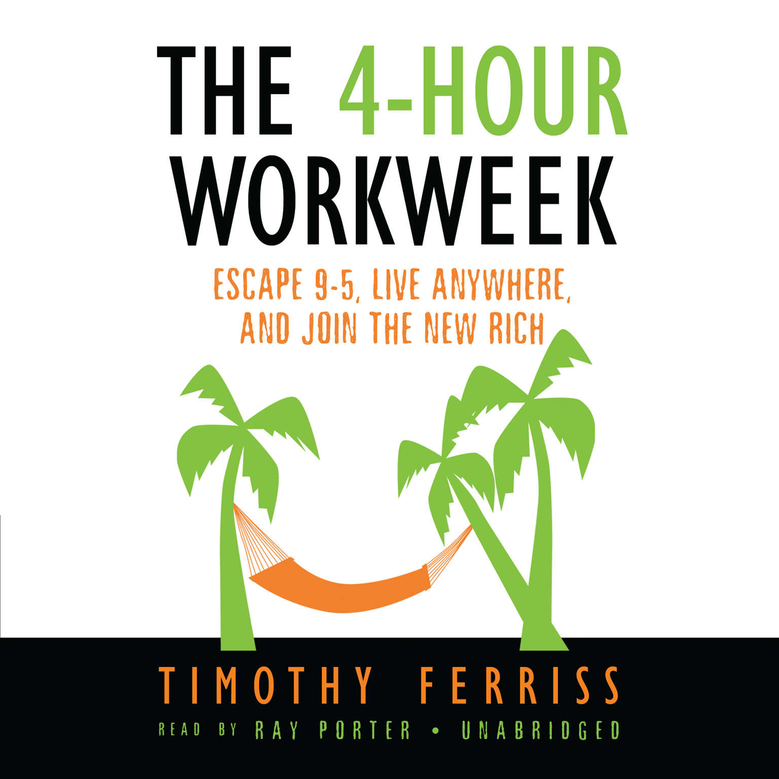 Printable The 4-Hour Workweek: Escape 9–5, Live Anywhere, and Join the New Rich Audiobook Cover Art