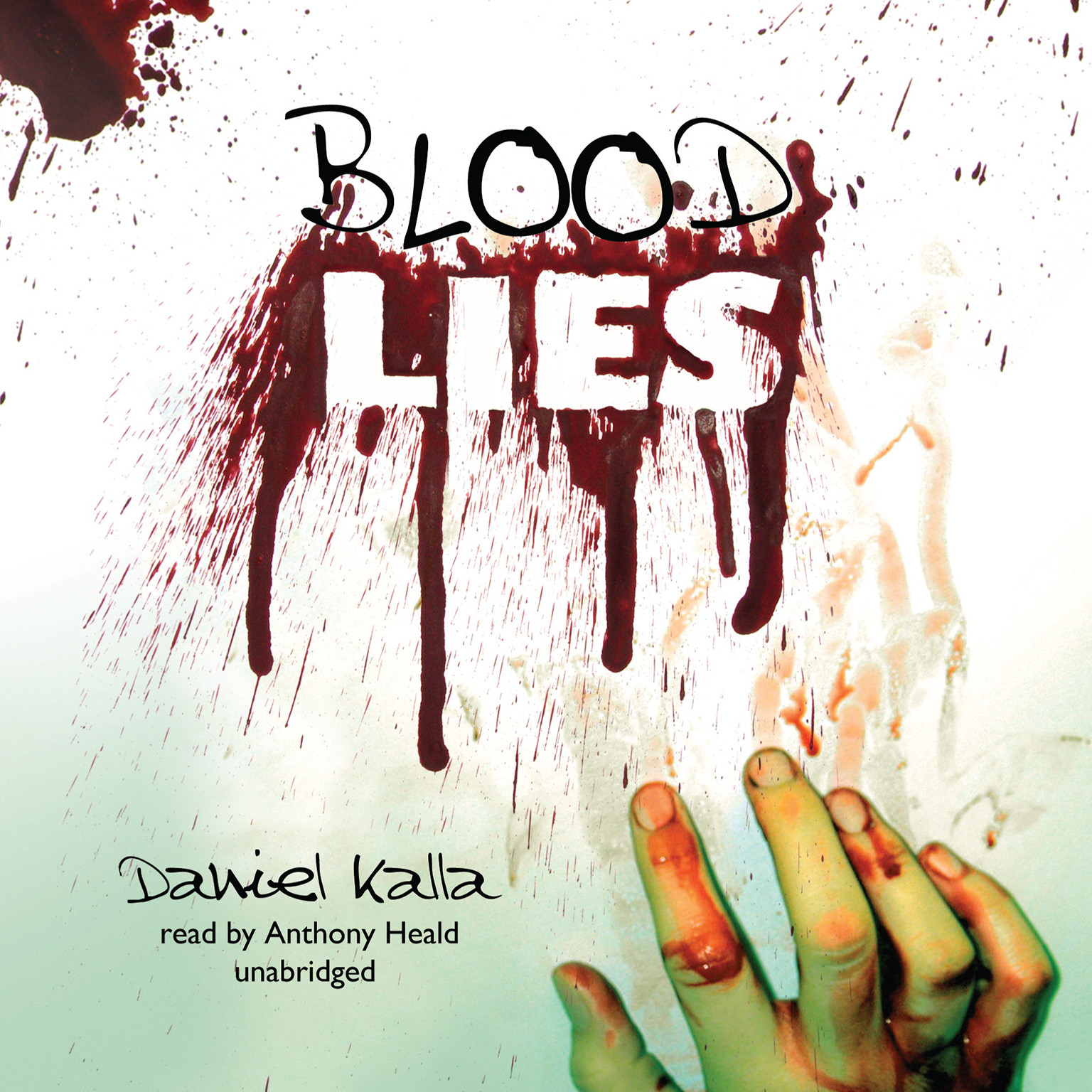 Printable Blood Lies Audiobook Cover Art