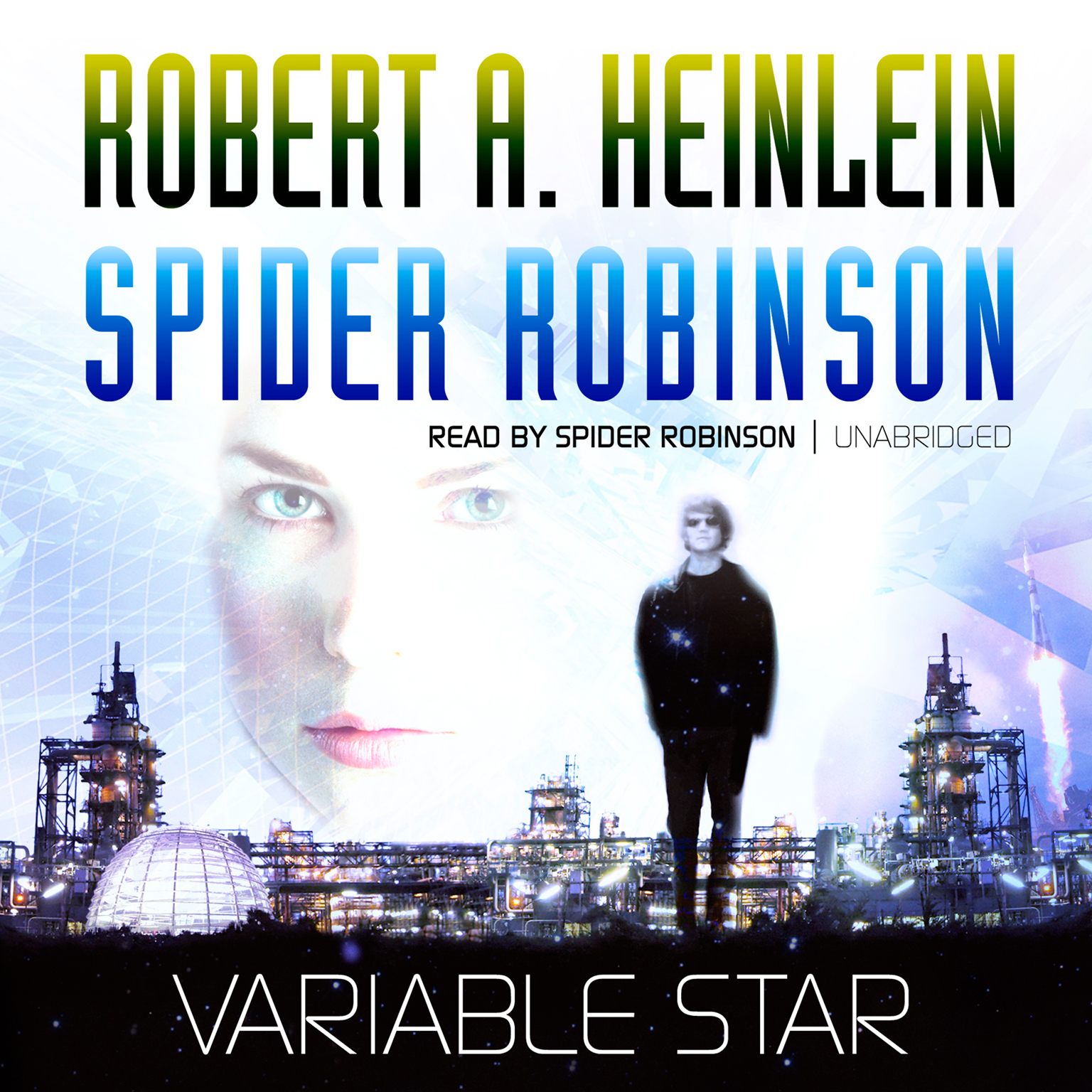 Printable Variable Star Audiobook Cover Art